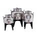 Ανοξείδωτο δοχείο με βιδωτό καπάκι χωρητικότητας 5L  - DO.KOL.5