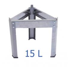 Βάση δοχείου από ανοξείδωτο για 15 L – VA.M.15