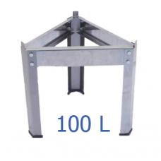 Βάση δοχείου inox για 100 L – VA.M.100