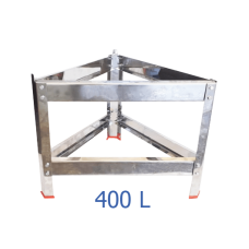 Βάση δοχείου από ανοξείδωτο για 400 L – VA.M.400