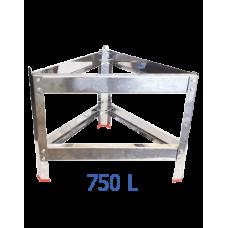 Βάση δοχείου από ανοξείδωτο για 750 L – VA.M.750
