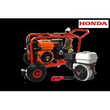 Βενζινοκίνητο ψεκαστικό συγκρότημα σε βάση με ρόδες 300 - με κινητήρα HONDA GP160- Αντλία TF40