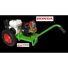Βενζινοκίνητο ψεκαστικό συγκρότημα σε απλή  βάση με ρόδες 400 - 6 λινες - κινητήρα HONDA GP160 - αντλία TF40