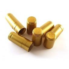 Καψύλλια θερμοσυρρικνούμενα Χρυσά με γλωσσίδι100 ΤΕΜ